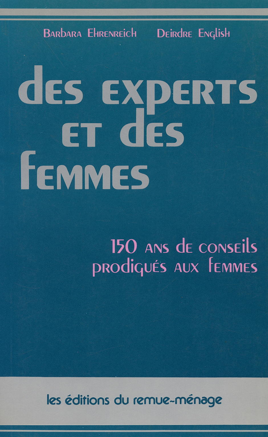 couverture Des experts