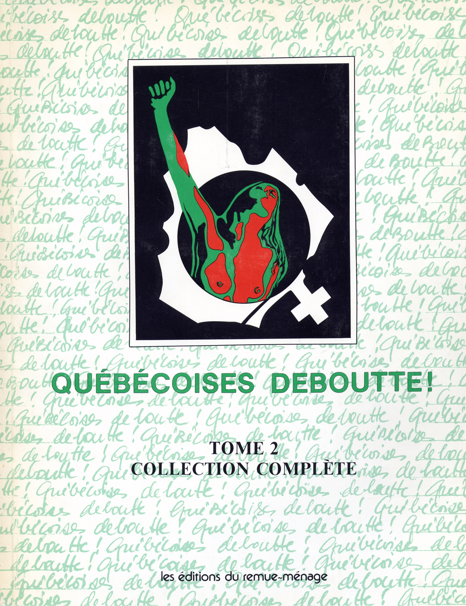 couverture Québécoises deboutte