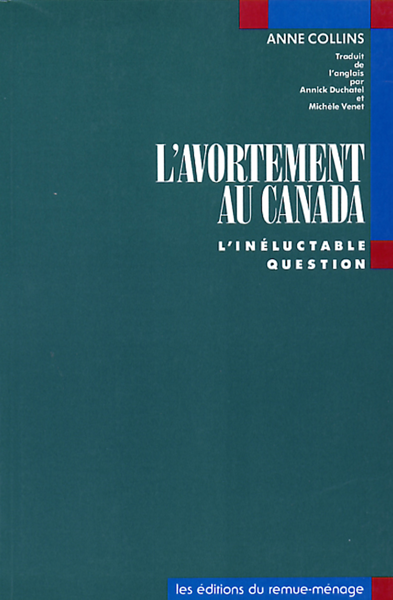 couverture Avortement au Canada