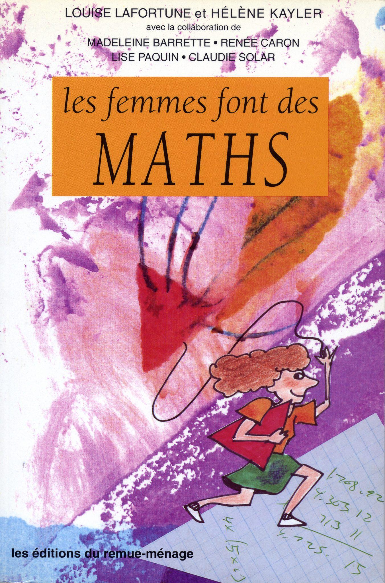 couverture Les femmes font des maths
