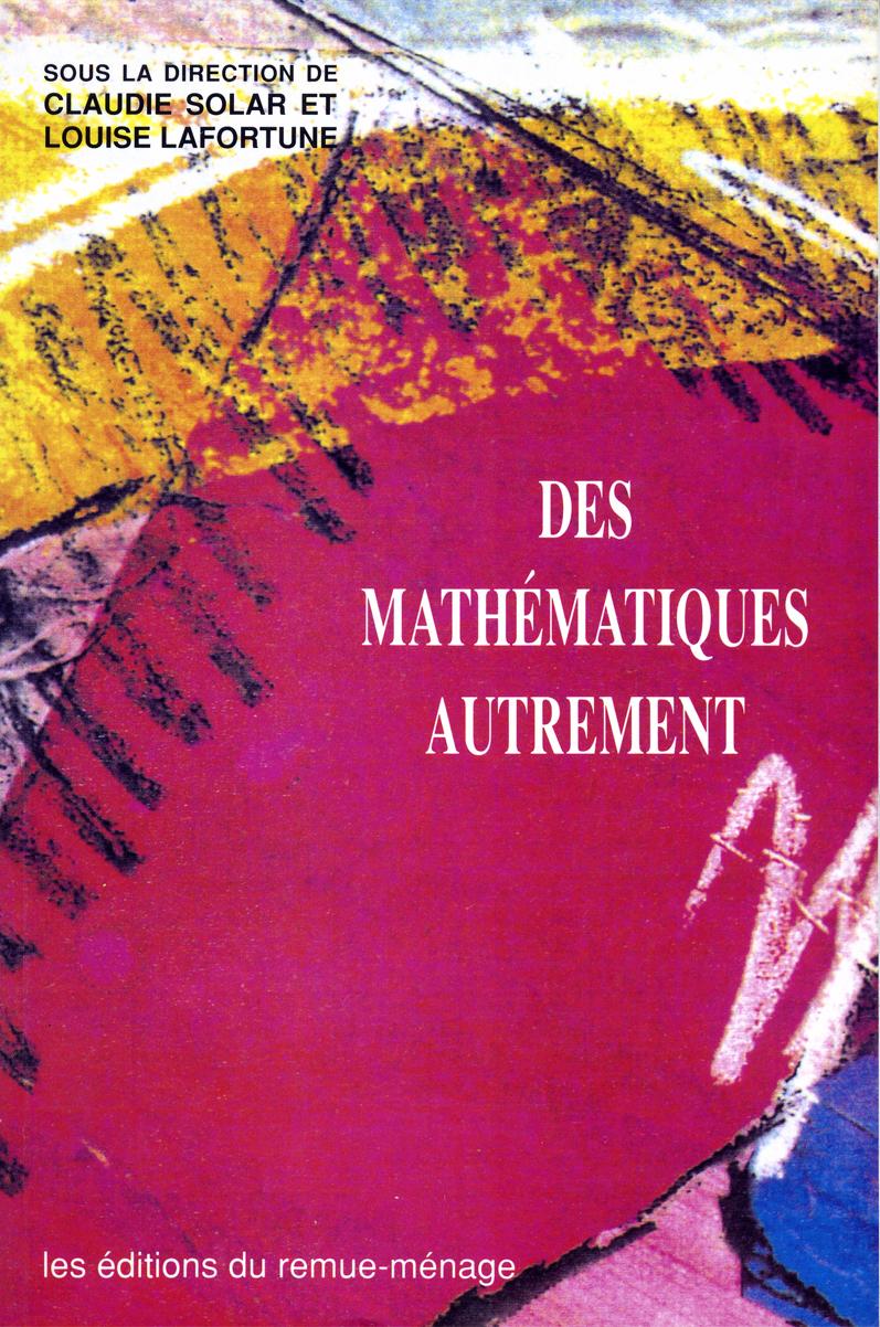 couverture Des mathématiques autrement