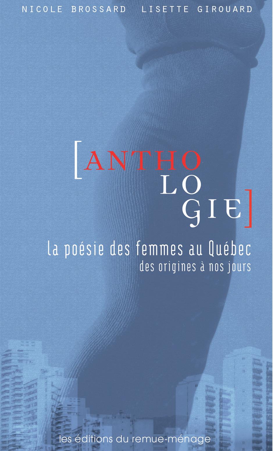 couverture Anthologie poésie