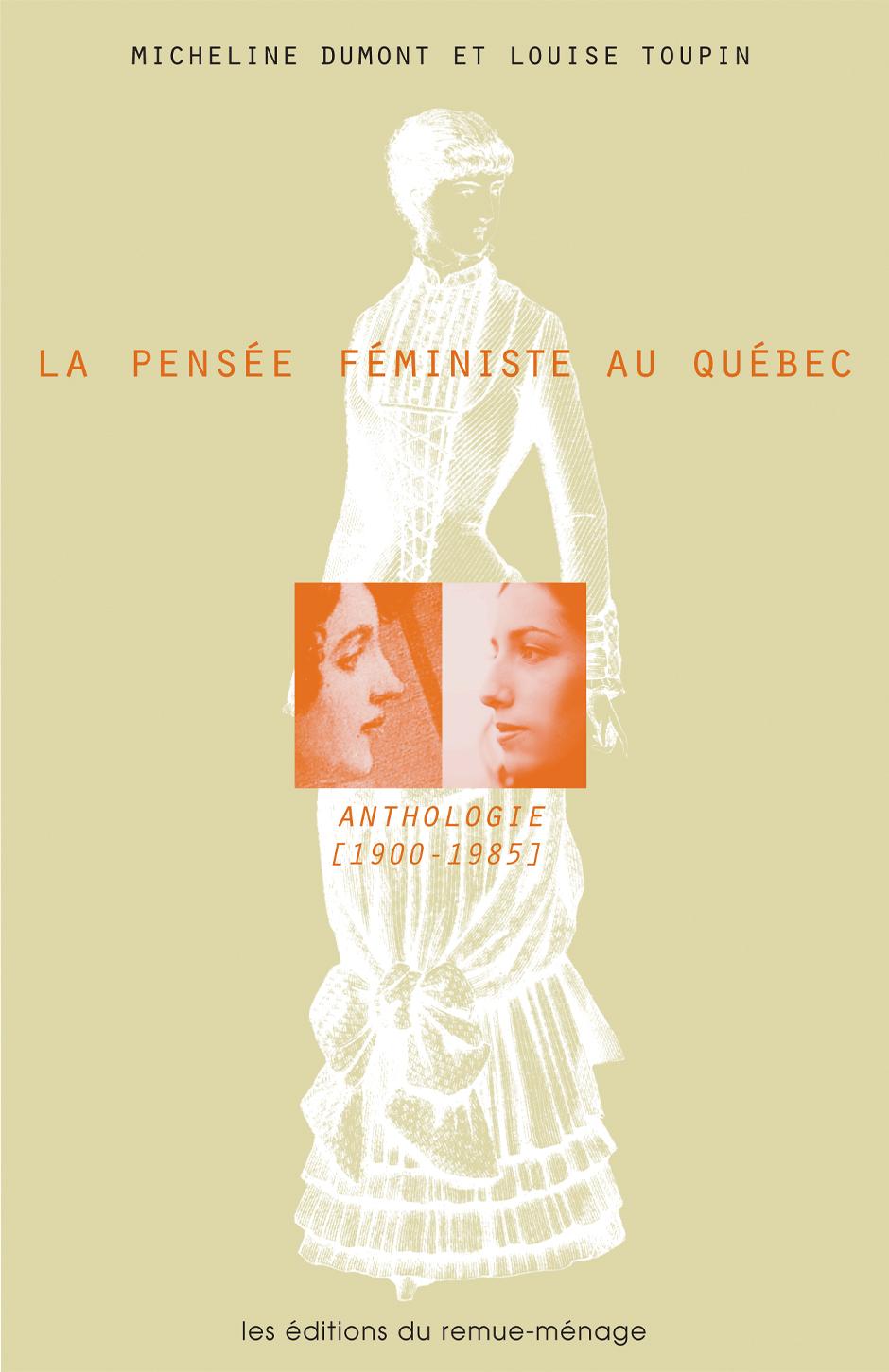 couverture Pensée féministe au Québec