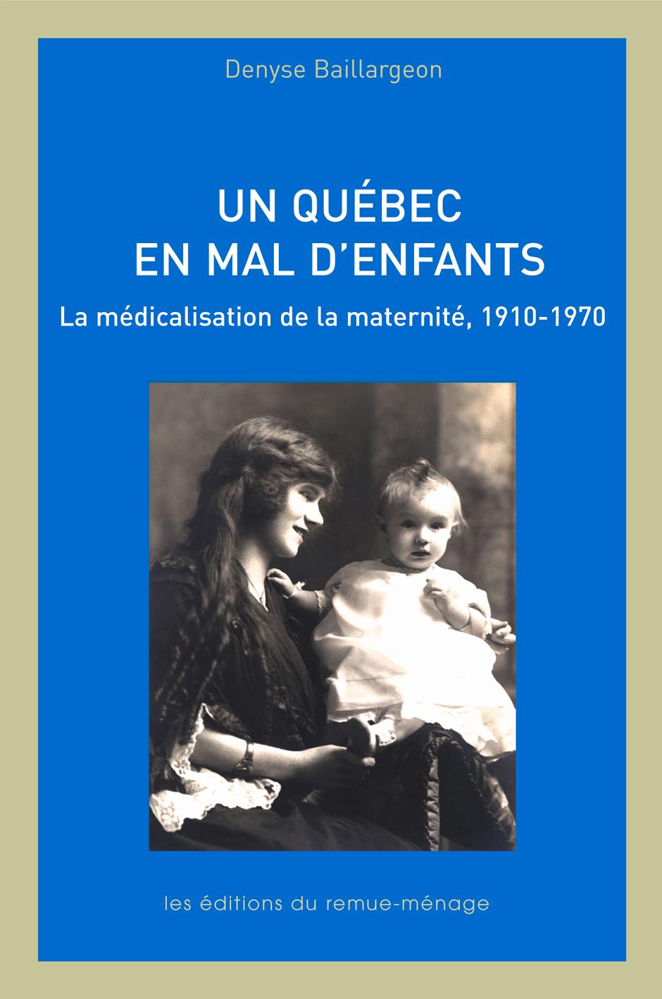 couverture Un Québec en mal d'enfants