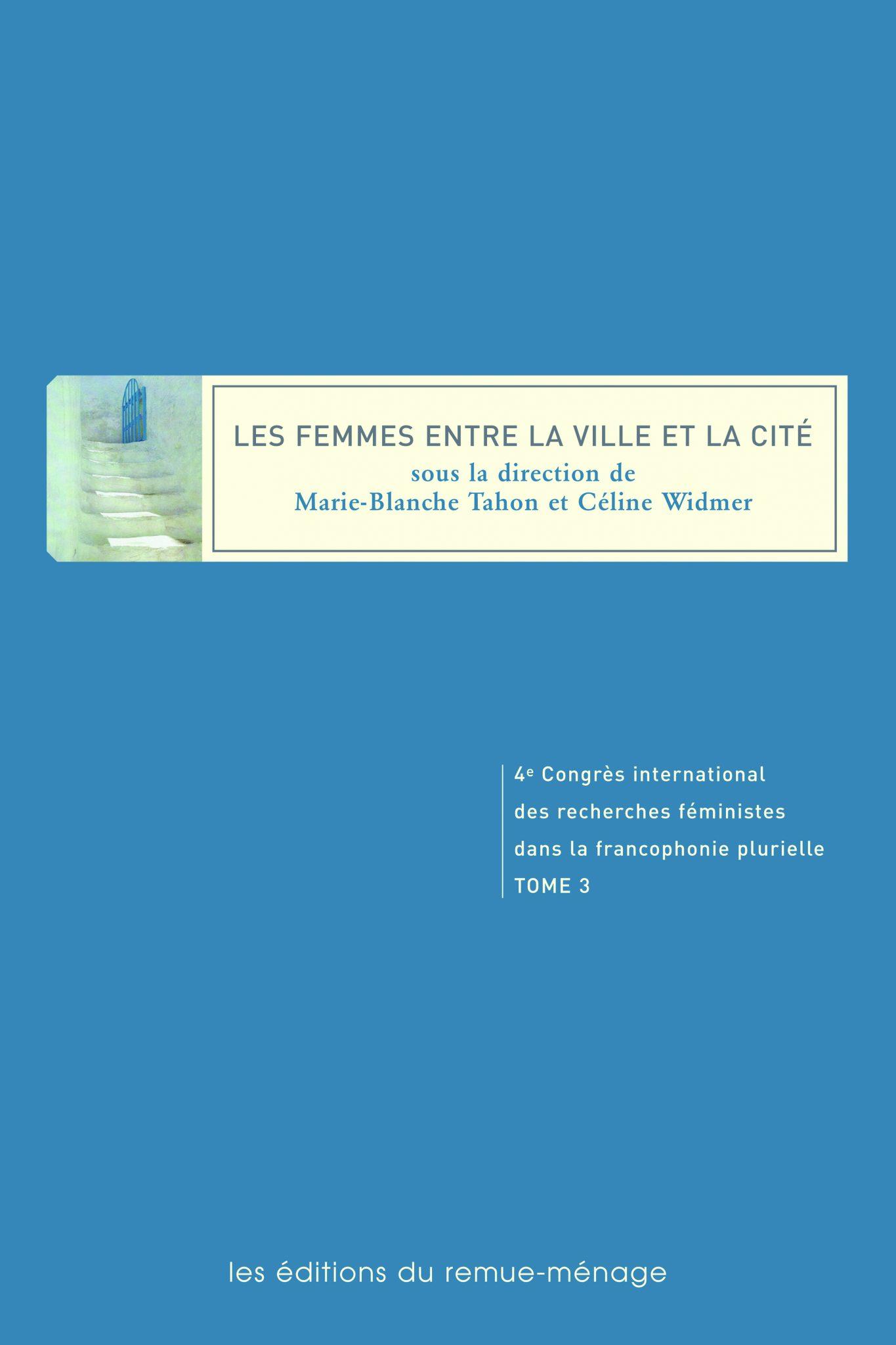 couverture Femmes entre la ville