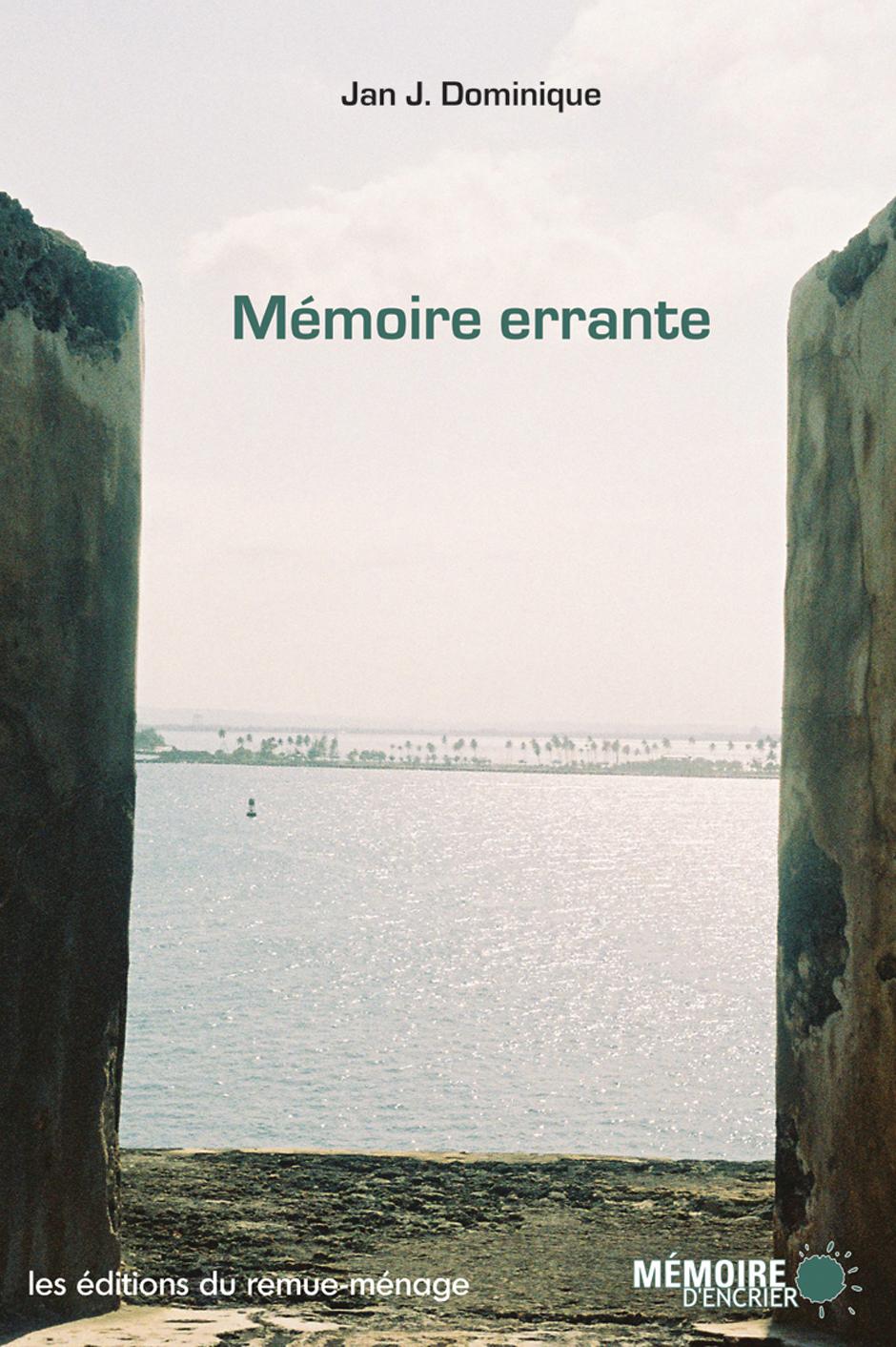 couverture Mémoire errante
