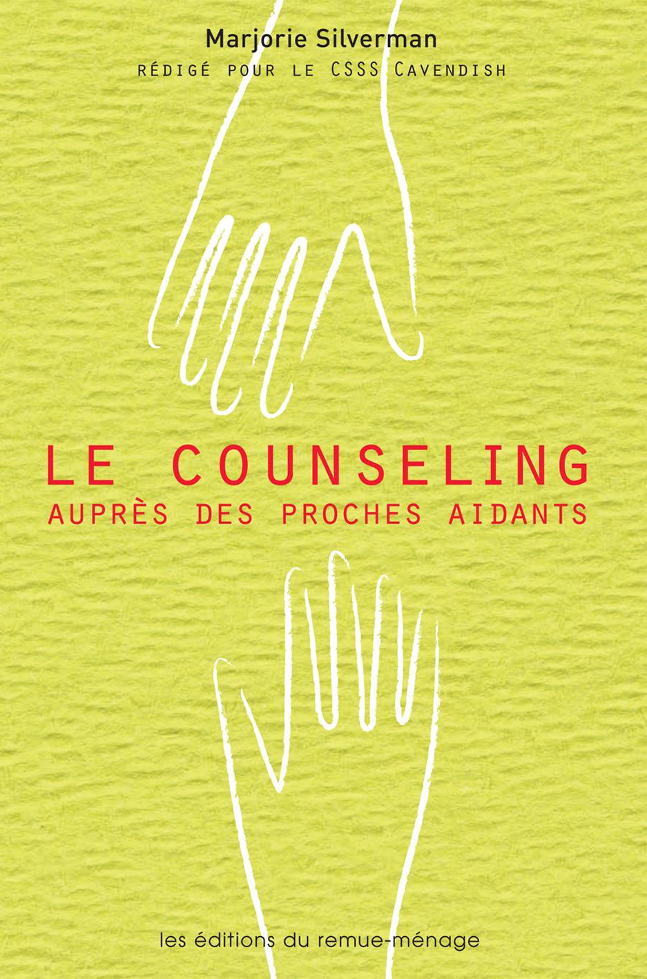 couverture Le counseling auprès des proches aidants