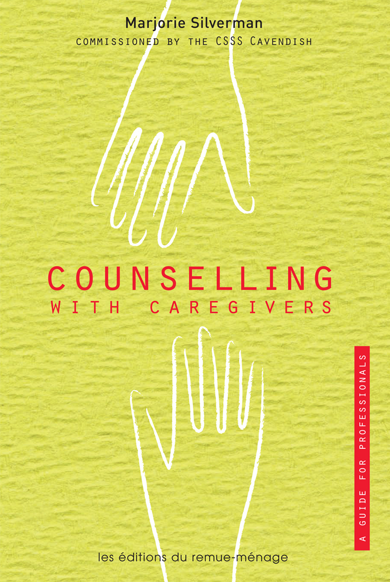 couverture Counselling with caregivers