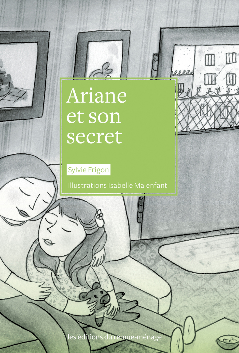 couverture Ariane et son secret