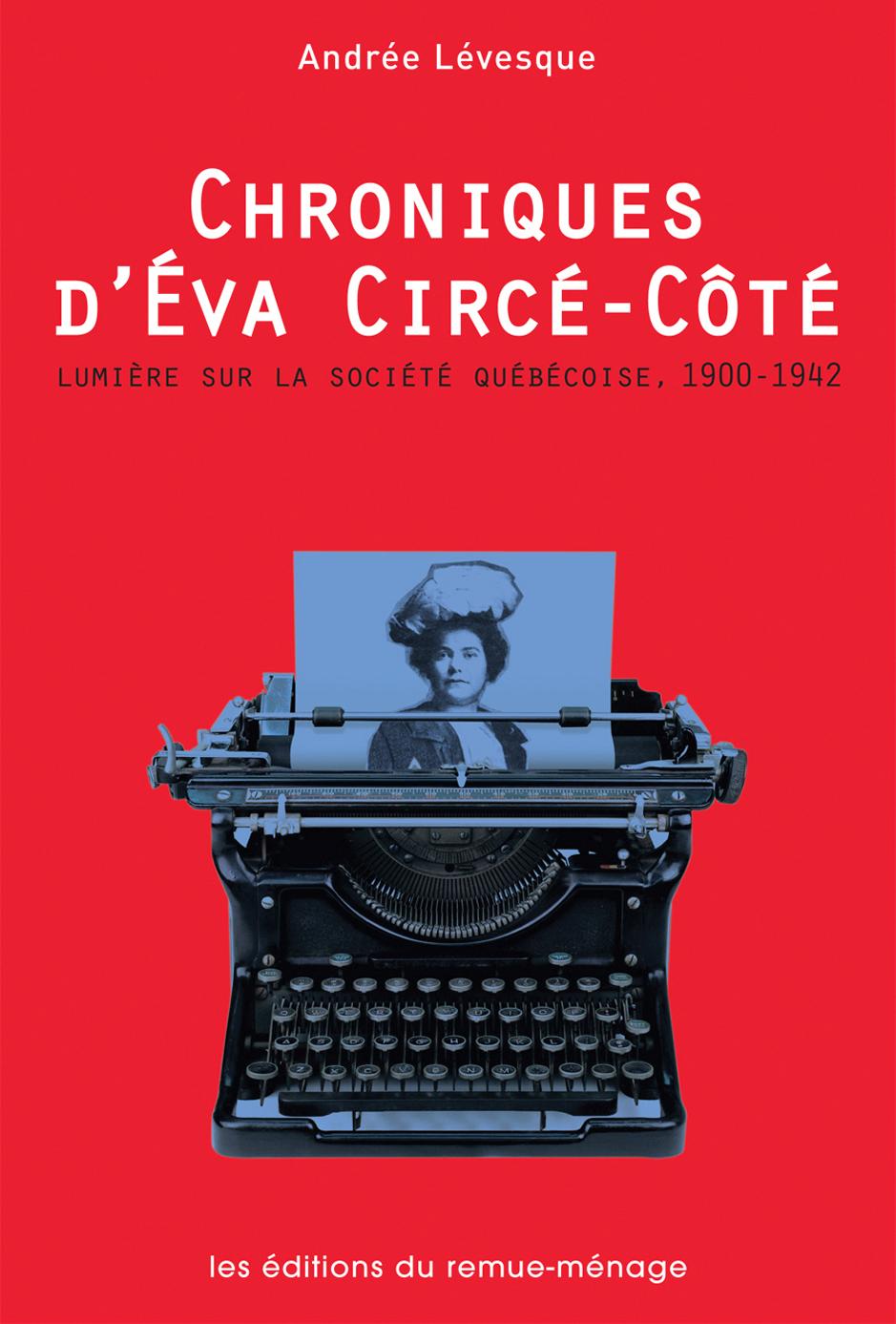 couverture Chroniques Eva Circé Côté