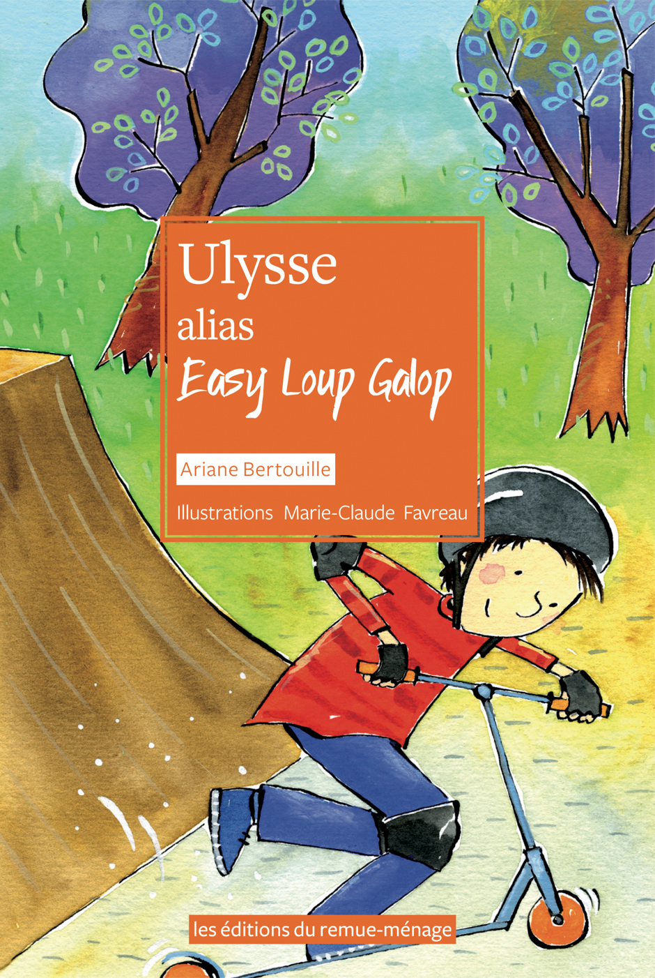 couverture Ulysse Alias Easy Loup