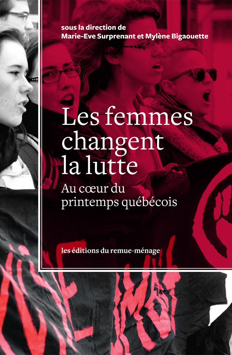 couverture Les femmes changent la lutte