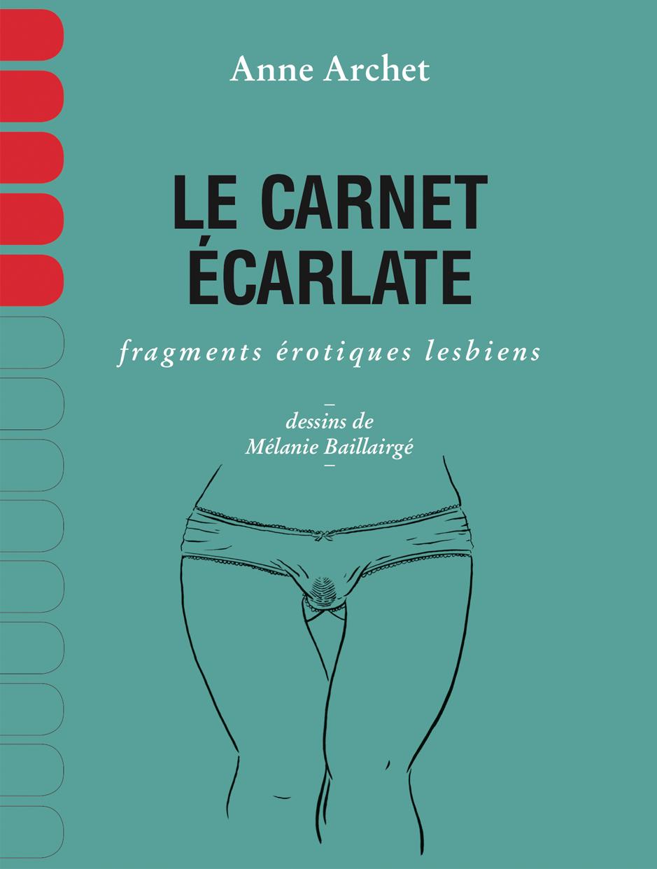 couverture Carnet Écarlate
