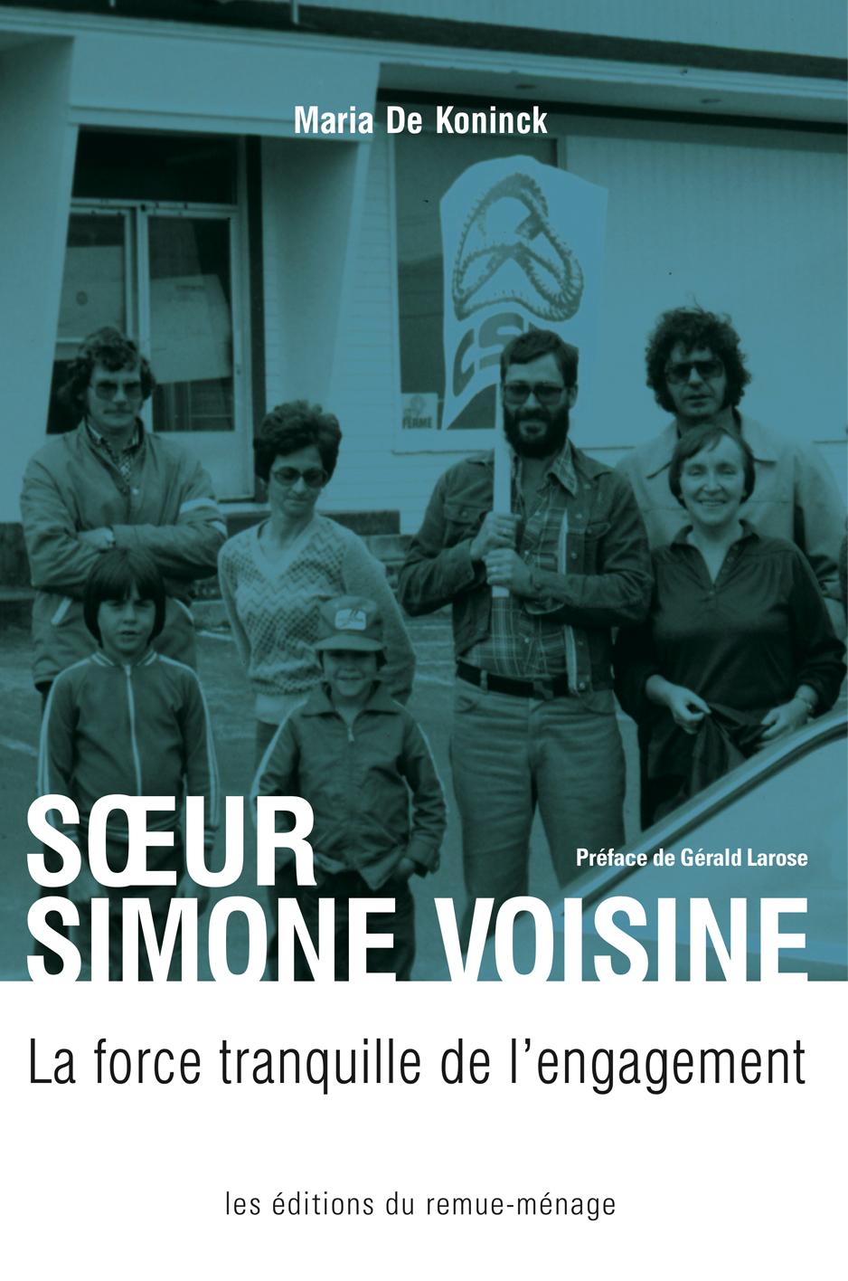 couverture Soeur Simone Voisine
