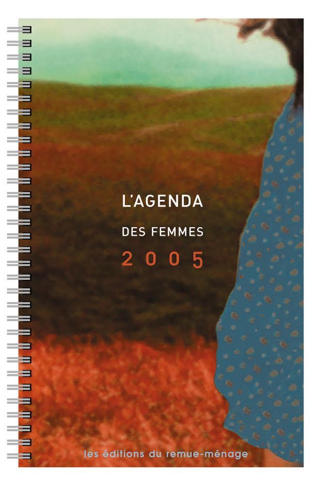 couverture Agenda des femmes 2005
