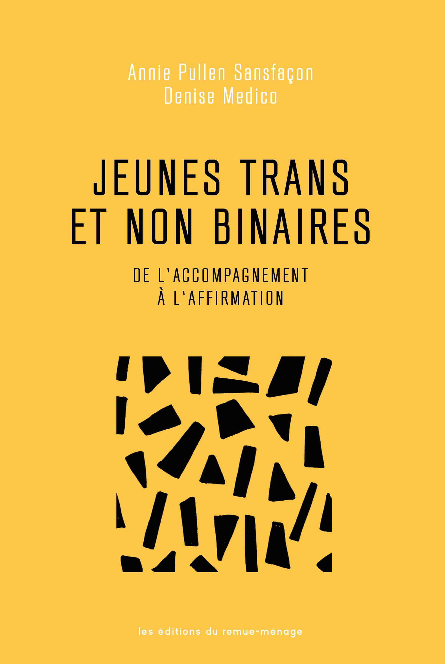 Jeunes trans et non binaires
